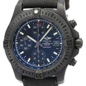 Breitling  Black Stainless Steel Colt Chronograph Automatic M13388 Men's Wristwatch 44 MM