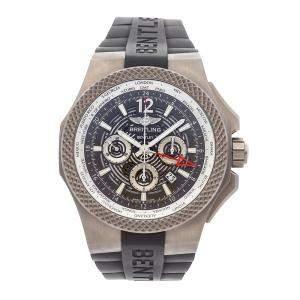 Breitling Black Titanium Bentley GMT Light Body Chronograph EB043210/M533 Men's Wristwatch 49 MM