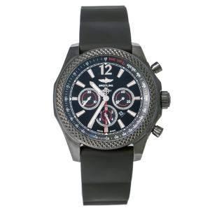 Breitling Black Stainless Steel Bentley Barnato 42 M413902/BB85/217S Men's Wristwatch 42 mm