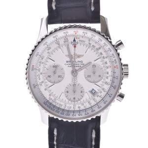 Breitling Silver Stainless Steel Navitimer A23322 Men's Wristwatch 46 MM