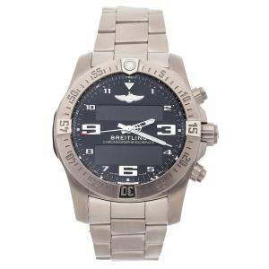 Breitling Black Titanium Exospace B55 Connected EB5510H1/BE79 Men's Wristwatch 46 MM