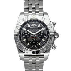 Breitling Grey Stainless Steel Chronomat AB014012/F554 Men's Wristwatch 41 MM