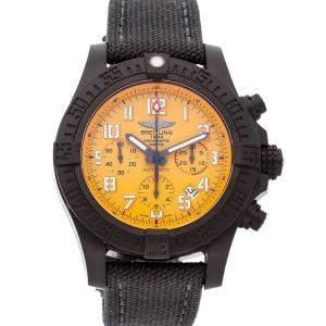Breitling Yellow Breitlight Avenger Hurricane XB0180E4/I534 Men's Wristwatch 45 MM