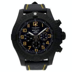 Breitling Black Breitlight Avenger Hurricane 12H XB01701A/BF92 Men's Wristwatch 50 MM