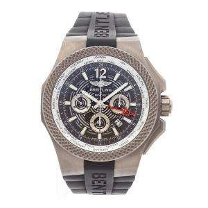 Breitling Grey Titanium Bentley GMT Chronograph EB043210/M533 Men's Wristwatch 49 MM