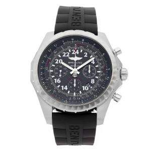 Breitling Black Stainless Steel Bentley 24 Hour Limited Edition AB022022/BC84 Men's Wristwatch 49 MM