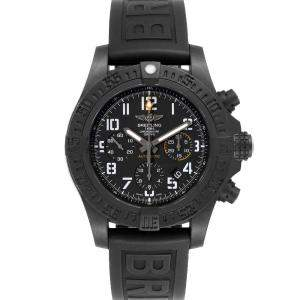 Breitling Black Breitlight Avenger Hurricane Military Limited XB0180 Men's Wristwatch 45 MM