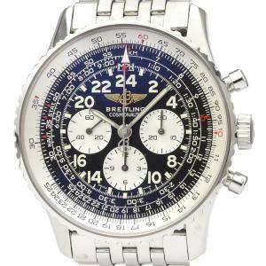 Breitling Black Stainless Steel Navitimer Mechanical A12322 Men's Wristwatch 41 MM