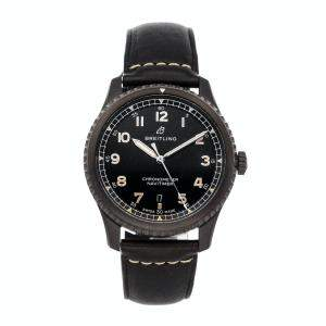 Breitling Black Blacksteel Navitimer 8 M17314101B1X1 Men's Wristwatch 41 MM