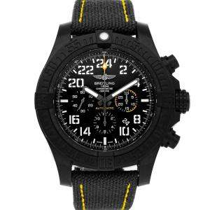 Breitling Black Anthracite Avenger Hurricane XB1210E4/BE89 Men's Wristwatch 50 MM