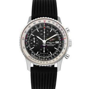 Breitling Black Stainless Steel Navitimer Heritage Edition Speciale A1332412/BF27 Men's Wristwatch 42 MM