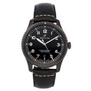 Breitling Black Blacksteel Navitimer 8 M17314101B1X1 Men's Wristwatch 41 MM