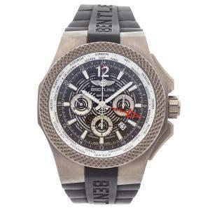 ساعة يد رجالية بريتلينغ بنتلي GMT كرونونغراف  EB043210/M533 تيتانيوم رصاصية 49 مم