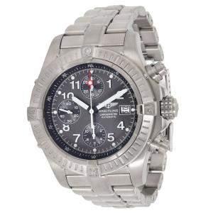 Breitling Grey Titanium Avenger E13360 Men's Wristwatch 44 MM