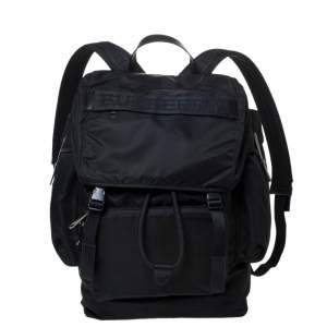 Burberry Black Nylon Ranger Backpack