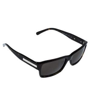 Burberry Dark Havana/ Brown B 4006 Rectangular Sunglasses