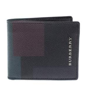 Burberry Multicolor Leather Bifold Wallet