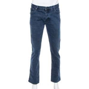 Burberry Brit Blue Denim Slim Fit Steadman Jeans L