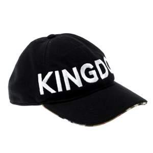قبعة بيسبول بربري x ريكاردو مطرزة Kingdom سوداء تيسكي B سيريس M