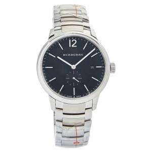 Burberry Black Stainless Steel Classic BU10005 Men's Wristwatch 40mm
