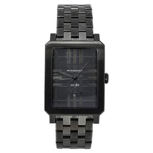 Burberry Gunmetal PVD Coated Stainless Steel BU1902 Men's Wristwatch 31 mm