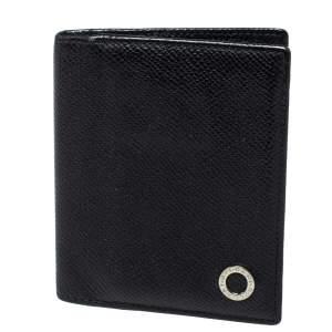 Bvlgari Black Leather Card Holder