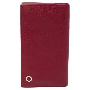 Bvlgari Red Leather Bvlgari Bvlgari Bifold Wallet