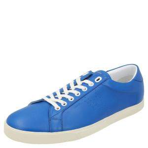 Celine Blue Triomphe Low Top Sneakers  Size EU 40