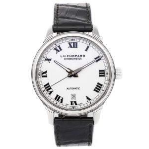 ساعة يد رجالية شوبارد  L.U.C 1937 168558-3002 ستانلس ستيل فضية 42 مم