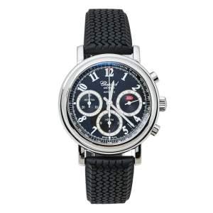 ساعة يد رجالية شوبارد ميلي ميغليا 8331 ستانلس ستيل مطاط سوداء 39 مم