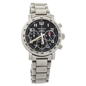 Chopard Black Titanium Mille Miglia Chronograph 15/8915 Men's Wristwatch 39 mm