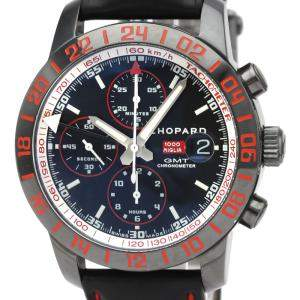 Chopard Black Stainless Steel Mille Miglia GT Chronograph 8992 Men's Wristwatch 42 MM