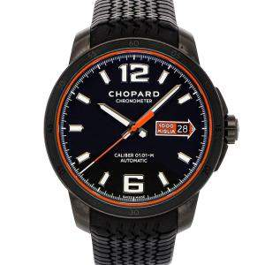 Chopard Black Dlc Stainless Steel Mille Miglia GTS Speed 168565-3002 Men's Wristwatch 43 MM