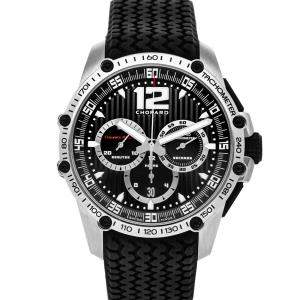 Chopard Black Stainless Steel Classic Racing Superfast Chronograph 168523-3001 Men's Wristwatch 45 MM