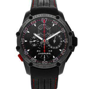 Chopard Black DLC Coated Stainless Steel Classic Racing Superfast Chronograph Split Limited Edition 168542-3001 Men's Wristwatch 45 MM