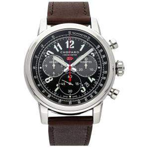 Chopard Black Stainless Steel Mille Miglia 2016 Race Limited Edition 168580-3001 Men's Wristwatch 46 MM