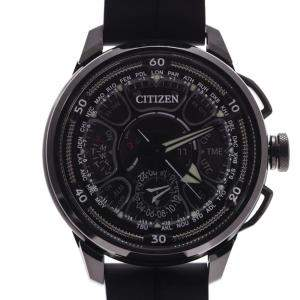 Citizen Black Titanium Satellite Wave GPS 1500 Limited CC7005-16F Men's Wristwatch 48 MM