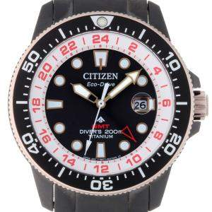 Citizen Black Titanium Promaster Eco-Drive Rugby Japan Limited Edition Men's Wristwatch 43 MM