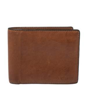 Coach Brown Leather Bifold Wallet