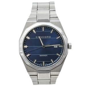 Concord Blue Stainless Steel Mariner CC.05.1.14.1093 Men's Wristwatch 41 mm