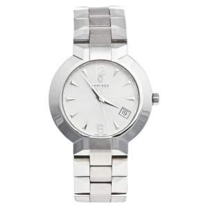 Concord Silver Stainless Steel La Scala 14.C2.1891 Men's Wristwatch 38 mm