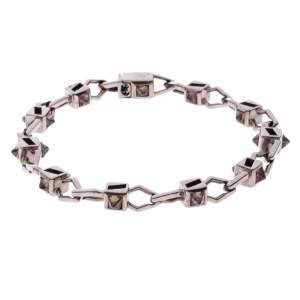 Stephen Webster for De Beers 18K White Gold and Diamond Barbed Wire Bracelet