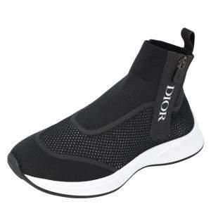 Dior Black B25 High Top Sneakers Size EU 45