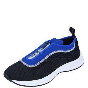 Dior Black/Blue B25 Low top Sneakers Size EU 42