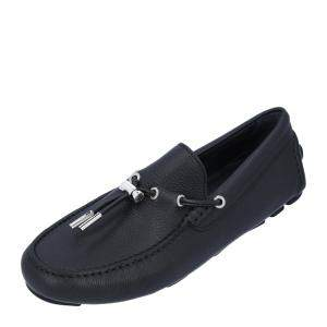 Dior Black Leather Loafers Size EU 39