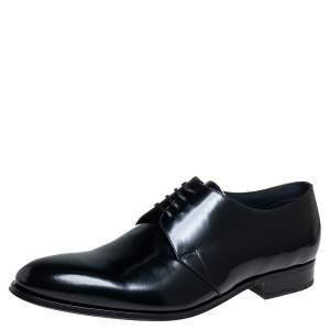حذاء ديربي ديور جلد أسود مقاس 46