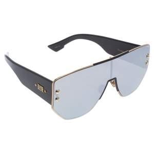 Dior Black Acetate DiorAddict1 Mirror Shield Sunglasses