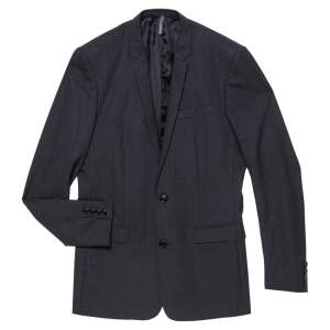 Dior Black Cashmere Coat Jacket S