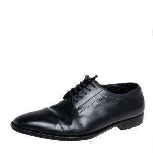 Dior Black Leather Oxfords Size 41