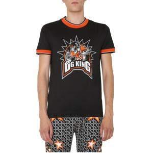 Dolce & Gabbana DG King Print T-Shirt Size EU 50